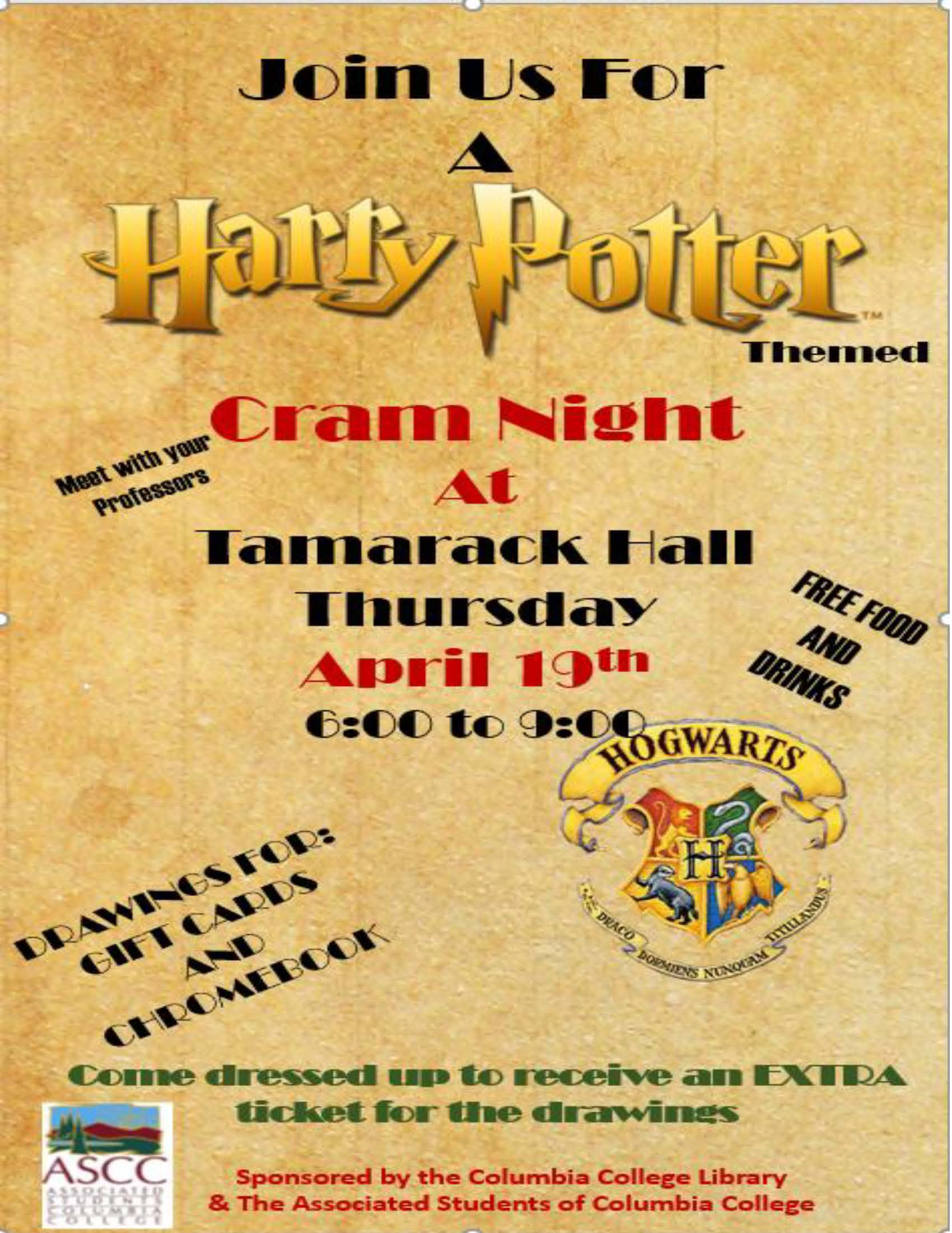 Cram Night Spring 2018