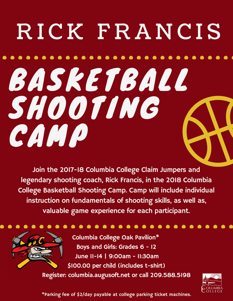 Rick Francis Bball Shooting Camp