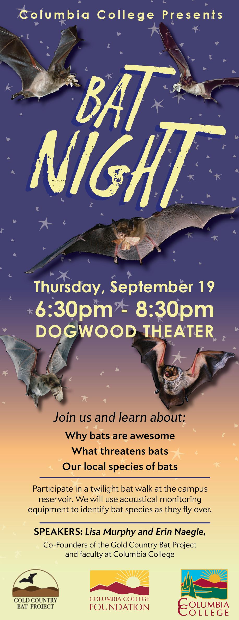 Bat Lecture Card