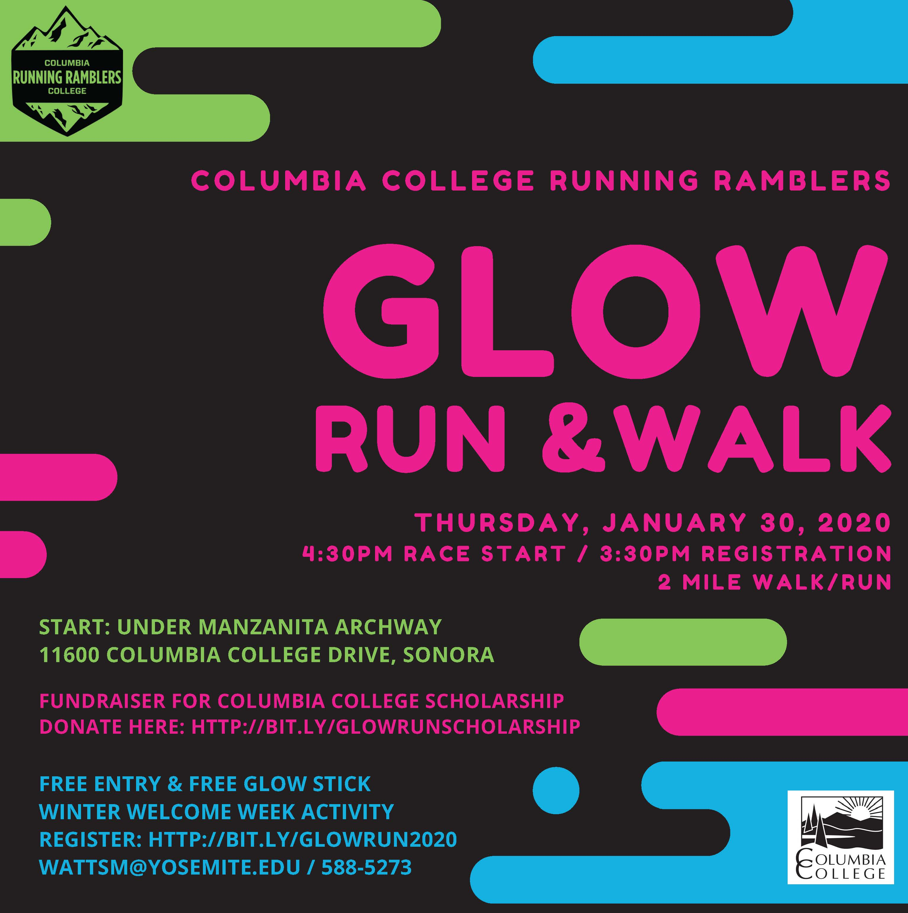 Glow Run January 30 2020